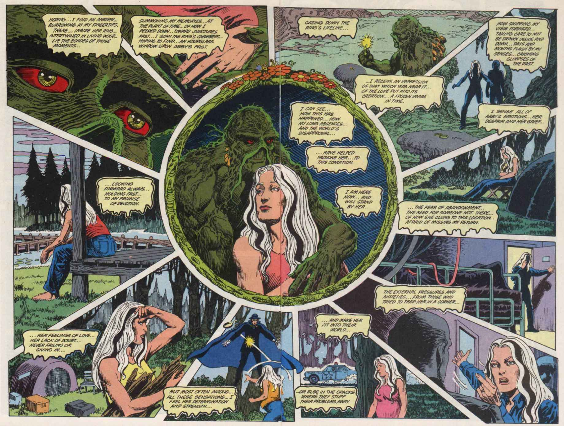 Swamp Thing (1982) Issue #91 #99 - English 16