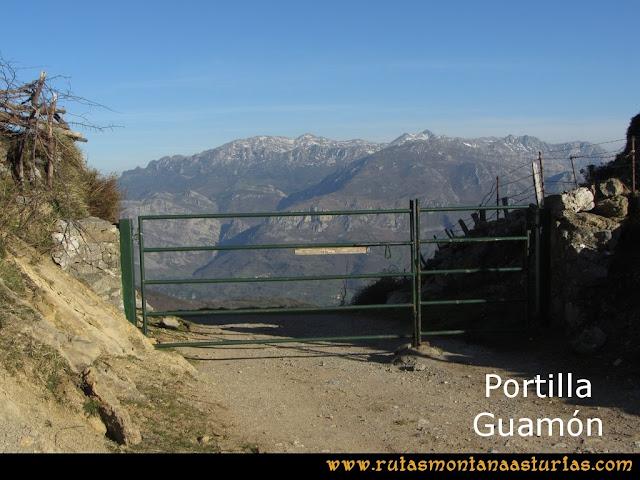Ruta Linares, La Loral, Buey Muerto, Cuevallagar: Portilla Guamón