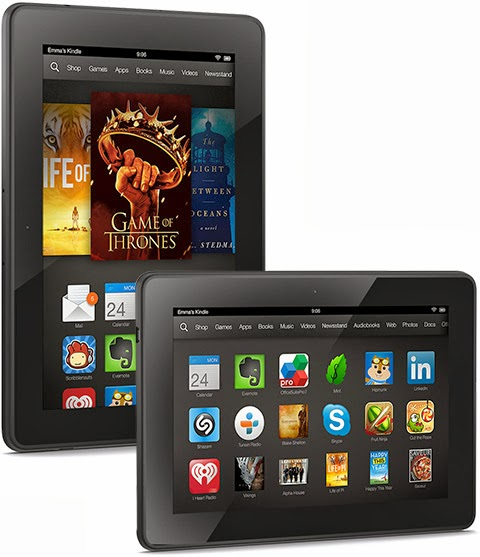 "Kindle Fire HDX Best New tablet on 7"" inch Display"
