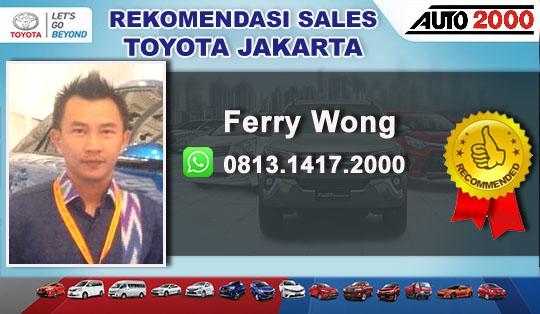 Rekomendasi Sales Toyota Mangga Besar Jakarta