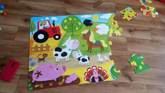 czuczu wieś, puzzle dla dzieci