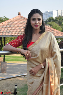 Angana Roy in Silk Saree at Teaching Tree Carnival .xyz 011.JPG