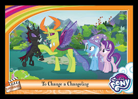 My Little Pony To Change a Changeling Series 5 Trading Card