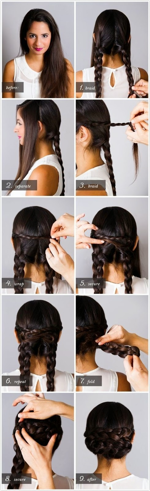 5 Simple and Cute Hairstyle Tutorials
