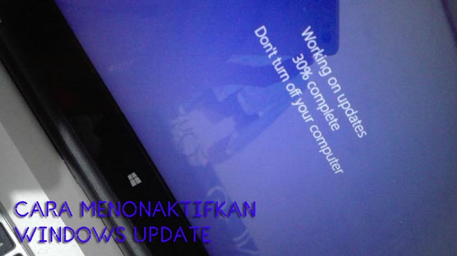 matikan windows update