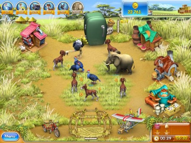 Farm Frenzy 3 Madagascar PC Games Screenshots