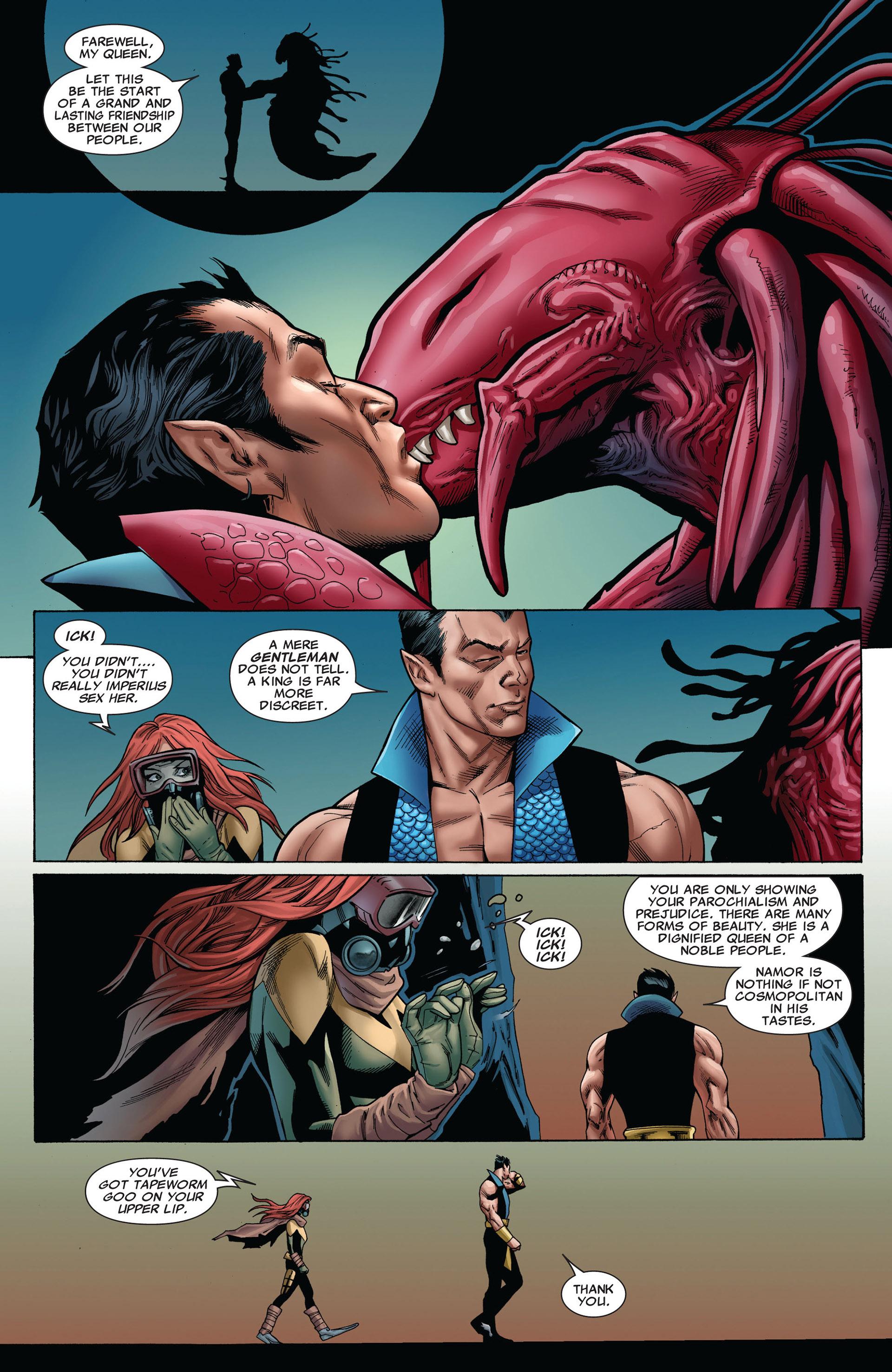 Read online Uncanny X-Men (2012) comic -  Issue #8 - 11
