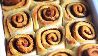 दालचीनी रोल रेसिपी - Cinnamon Rolls Recipe) - How to Make Cinnamon Rolls at Home , Cinnamon Rolls