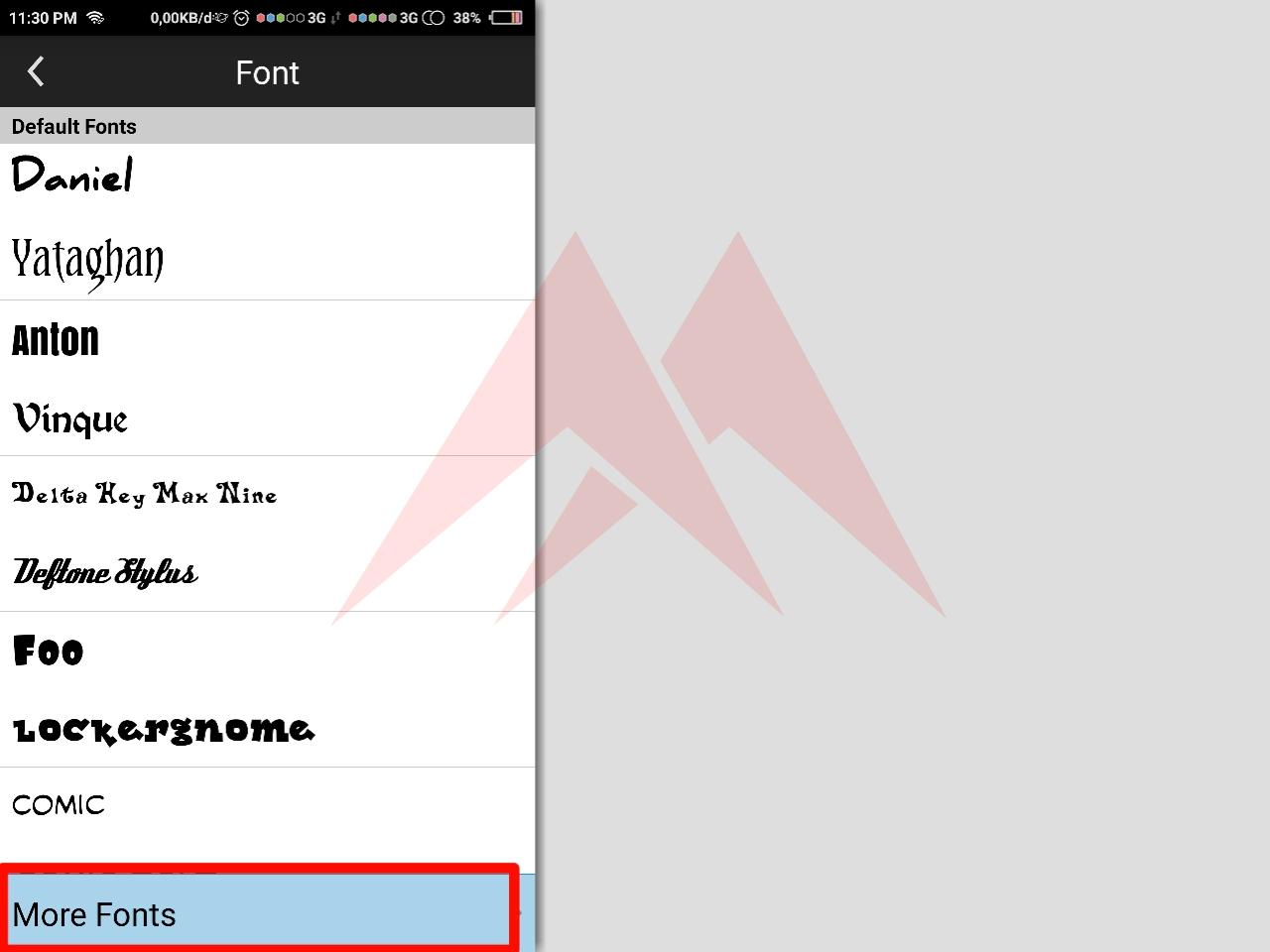 Cara mudah menambah font di aplikasi pixellab picsay pro dan ivy draw