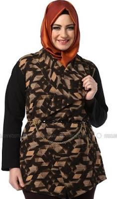 Model Baju Batik Wanita Gemuk5