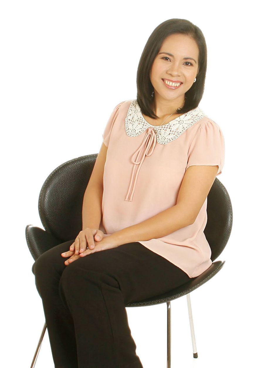 Book author Teresa Gumap-as Dumadag