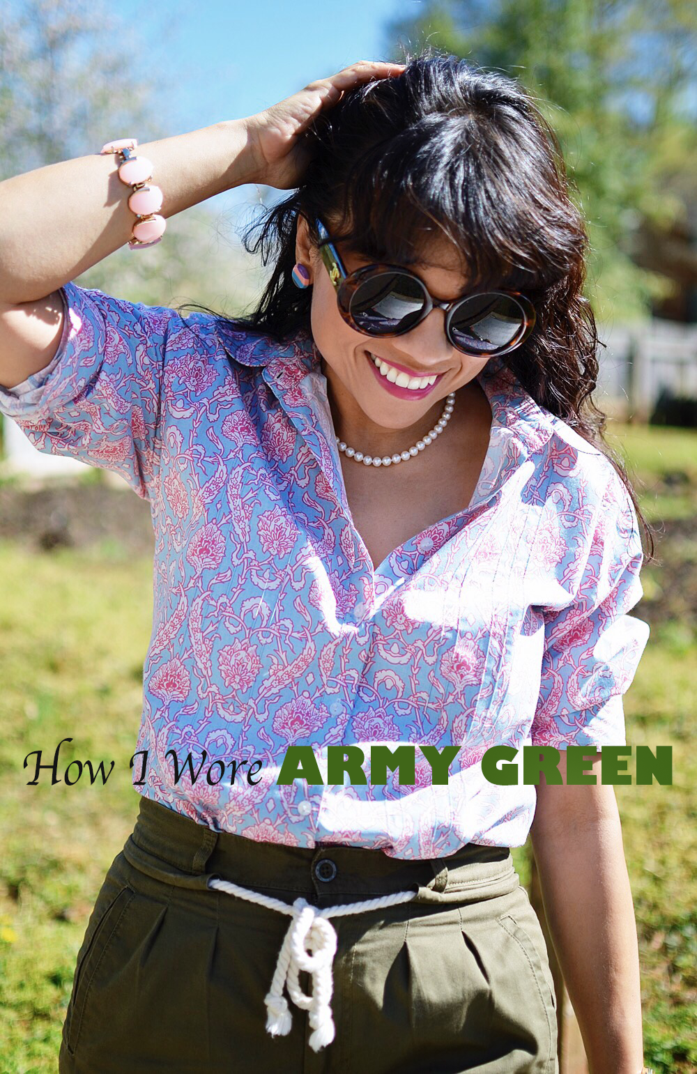 How to wear army green
