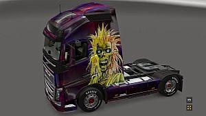 Iron Maiden skin for Volvo