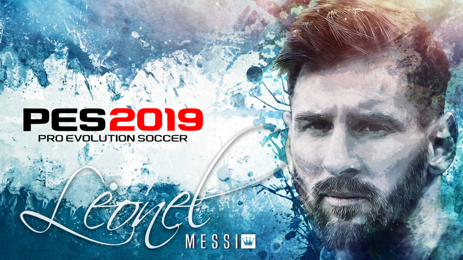PES 2019 L. Messi Start Screens By Noor