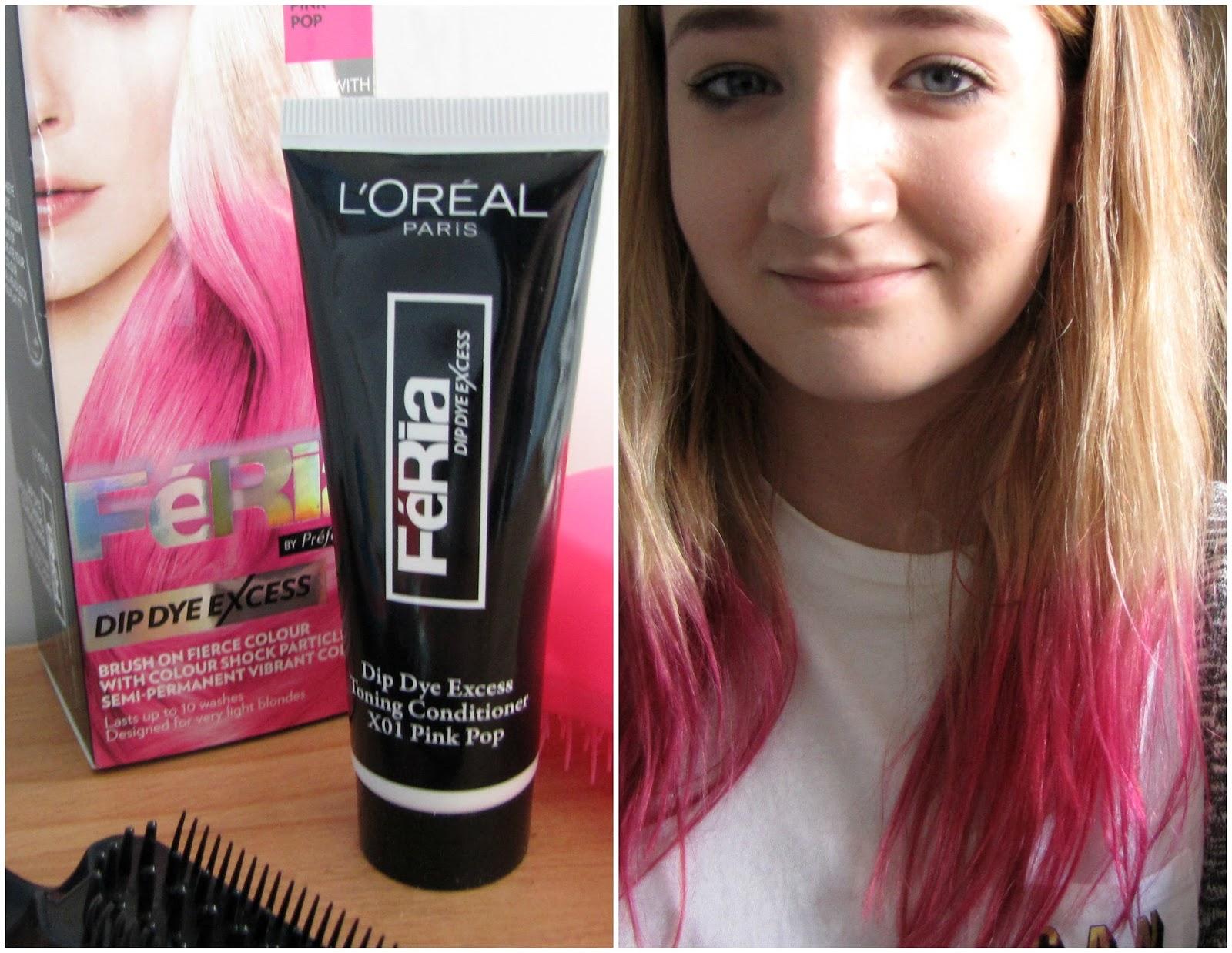 Pink Hair Dye Bleach