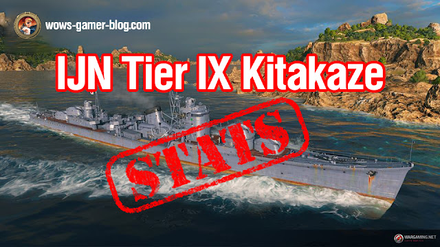 world of warships kitakaze
