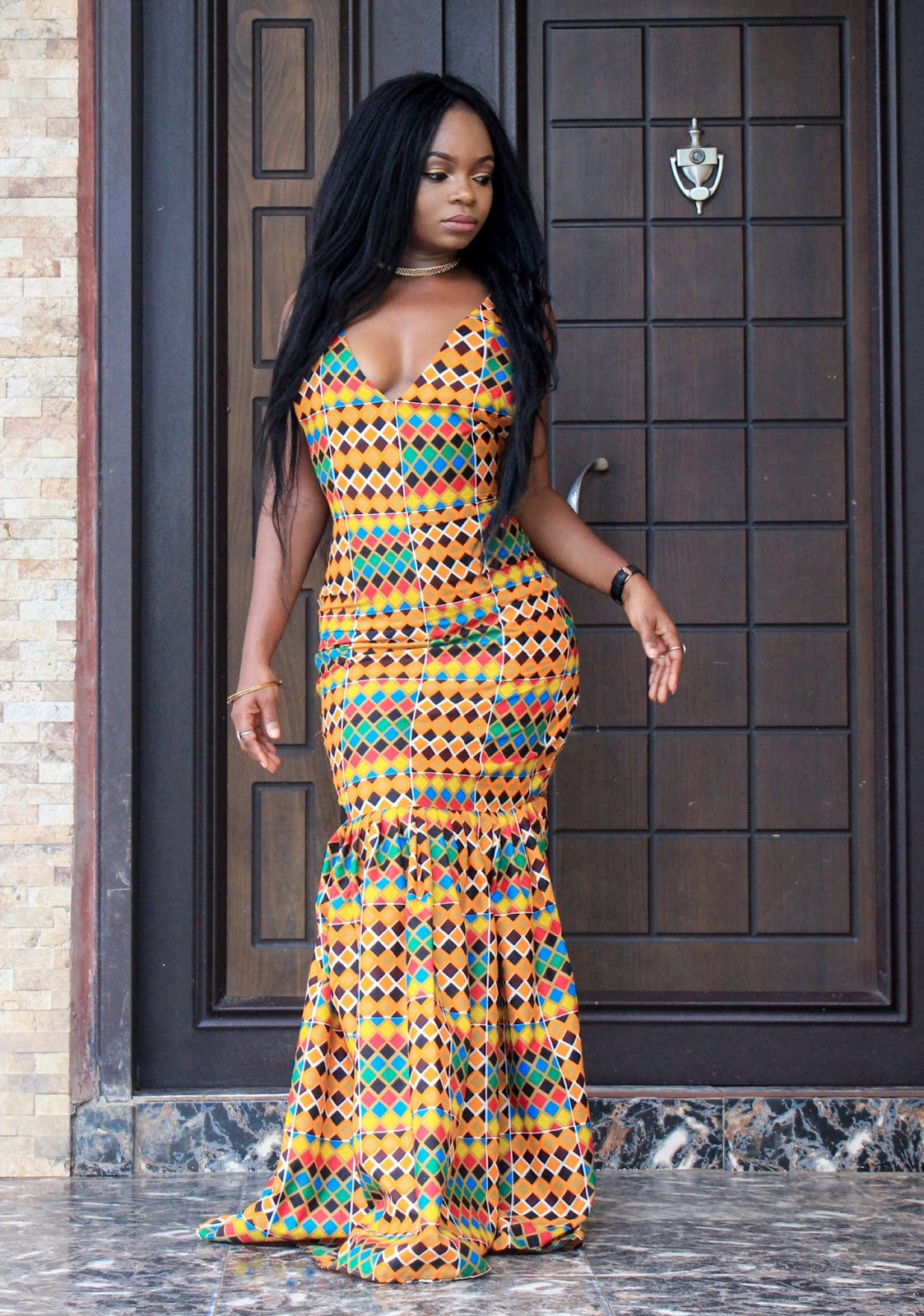 ANKARA CRUSH- African Prints Mermaid style dress