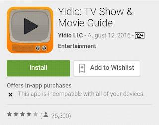 yidio aplikasi untuk nonton streaming film dan acara tv terbaik 2016