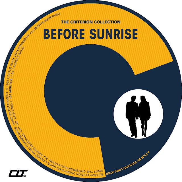 Before Sunrise Bluray Label