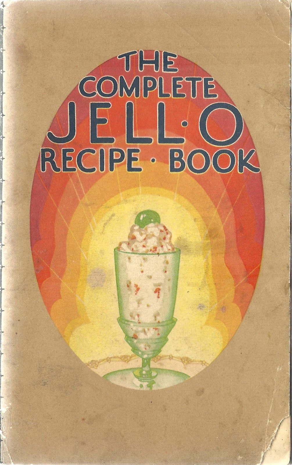 Book cover for The Complete Jello Recipe Book