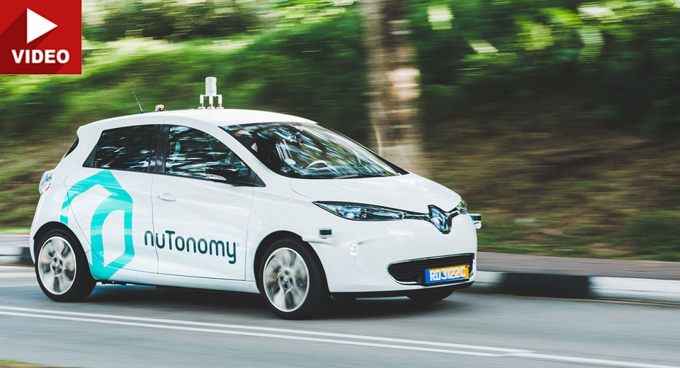 Tech Company Unveils First Autonomous Taxi Service In Singapore