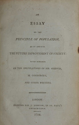 Malthus, Th.R., An Essay on the Principle of Population