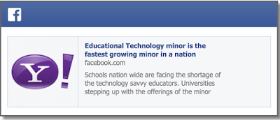 EdTech fastest growing minor - fake yahoo news