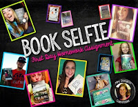 Book Selfie First Day Homework Assignment by Tracee Orman