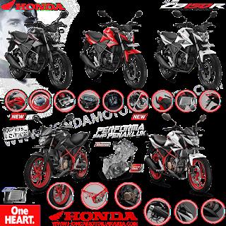 Katalog Honda CB 150 R Street Fire Facelift