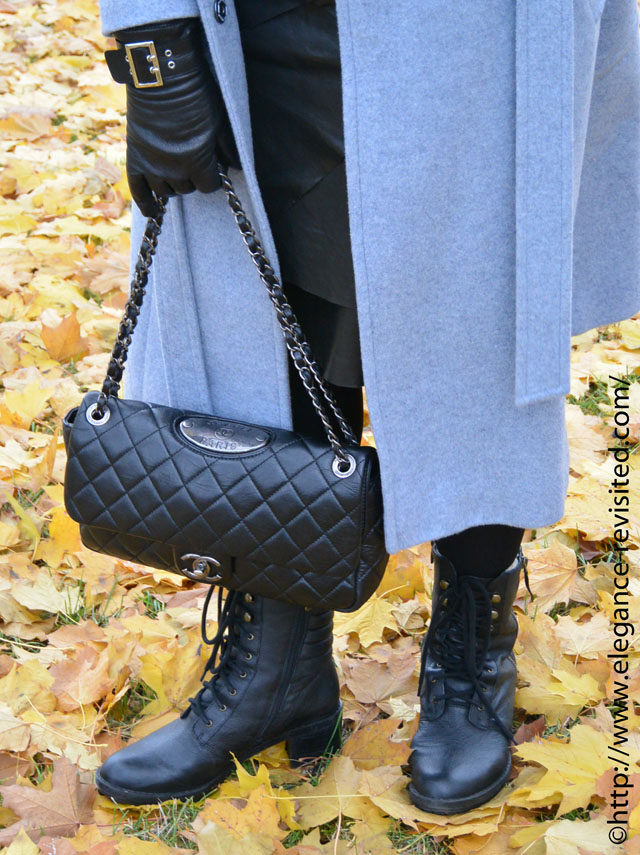 how to accessorise a Chanel bag