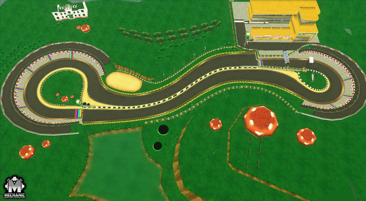 mario kart luigi circuit mta mechanic map mods mechanic map mods. Black Bedroom Furniture Sets. Home Design Ideas