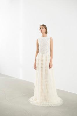 suknia ślubna pudrowy róż