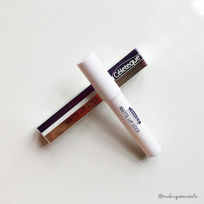 Celeteque Matte Lipstick Review