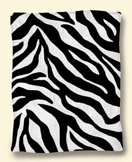 Selimut Rosanna King Sutra Zebra
