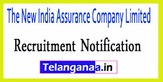 The New India Assurance Company Limited NIACL Recruitment Notification 2017