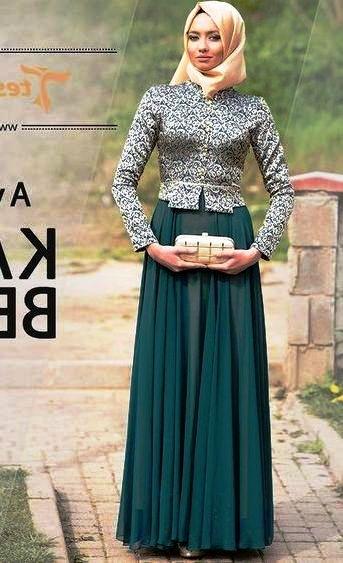 Model Baju Kebaya Pesta Muslim Brokat Modern | Model Baju 2018