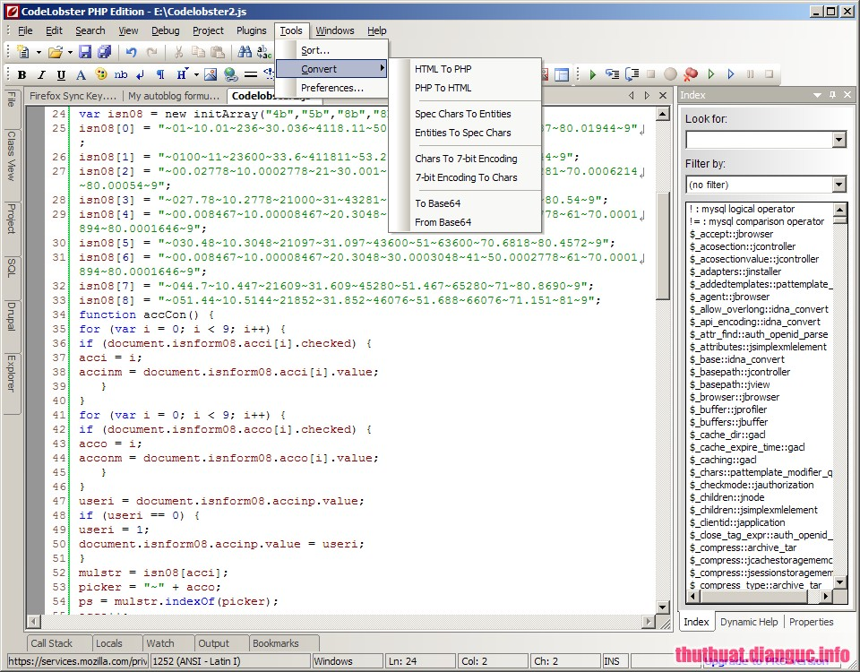 Download CodeLobster PHP Edition Pro 5.15.0 Full Cr@ck