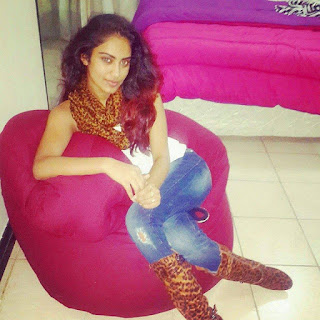 Sadaf Deen at home resting after votes hunting. PHOTO | George Charo