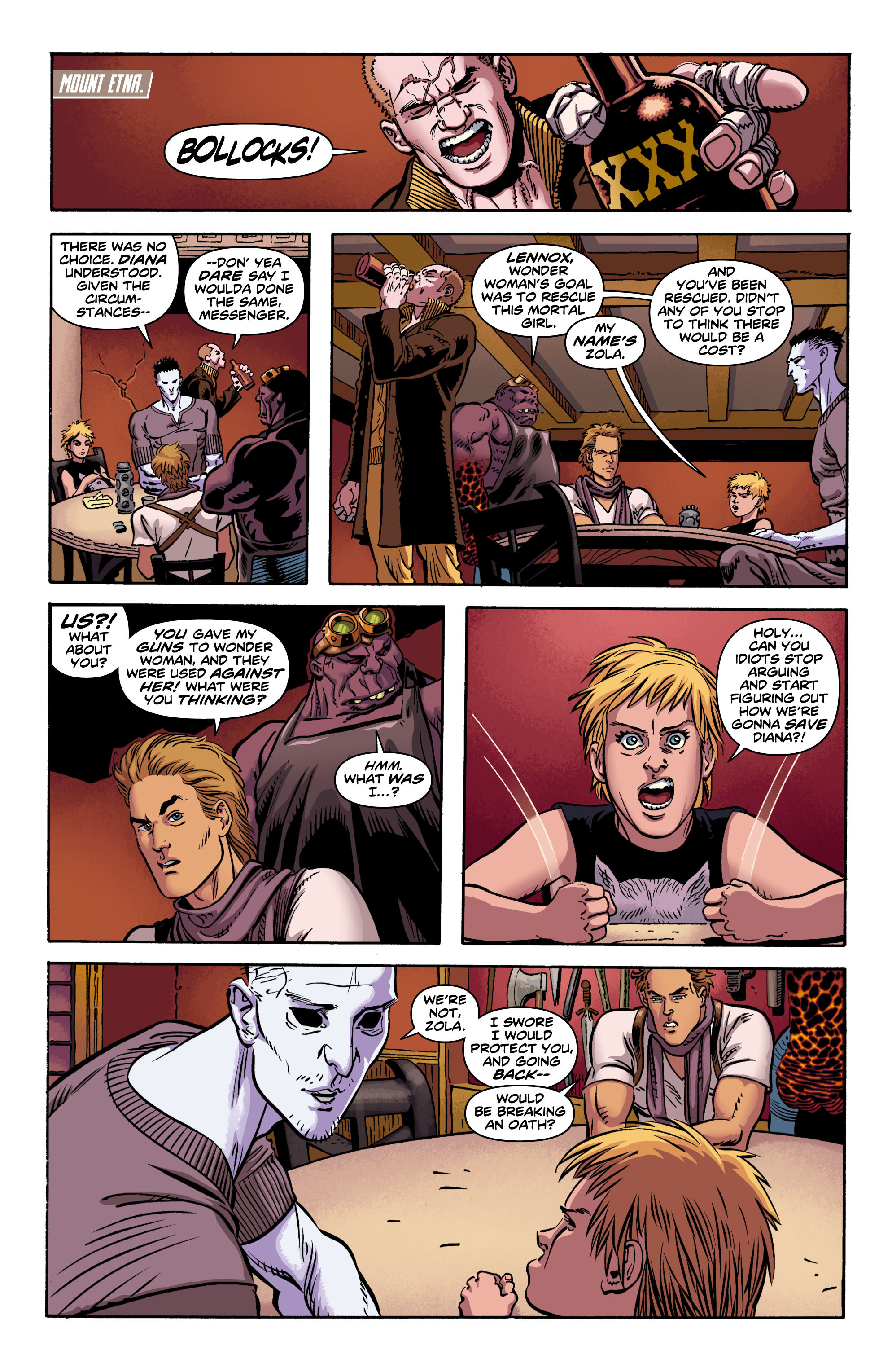 Read online Wonder Woman (2011) comic -  Issue #9 - 5