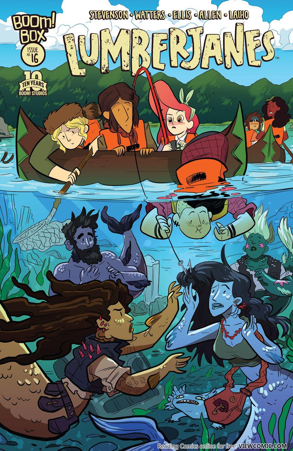 Extraordinary World of AnimeUnderwater: Lumberjanes (2014)