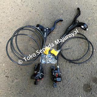 Brakeset hydraulic Shimano Alivio M445