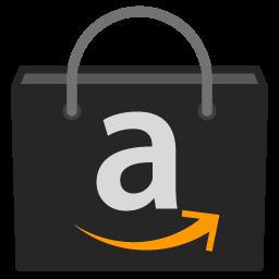 Preview of amazon, store, playstore, amazon store, black, folder icon