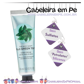 Creme de Mãos Chá Verde - The Body Shop (Sem Sulfatos, Sem Petrolatos e Sem Silicones)