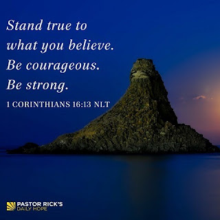Stand True to What You Believe by Rick Warren