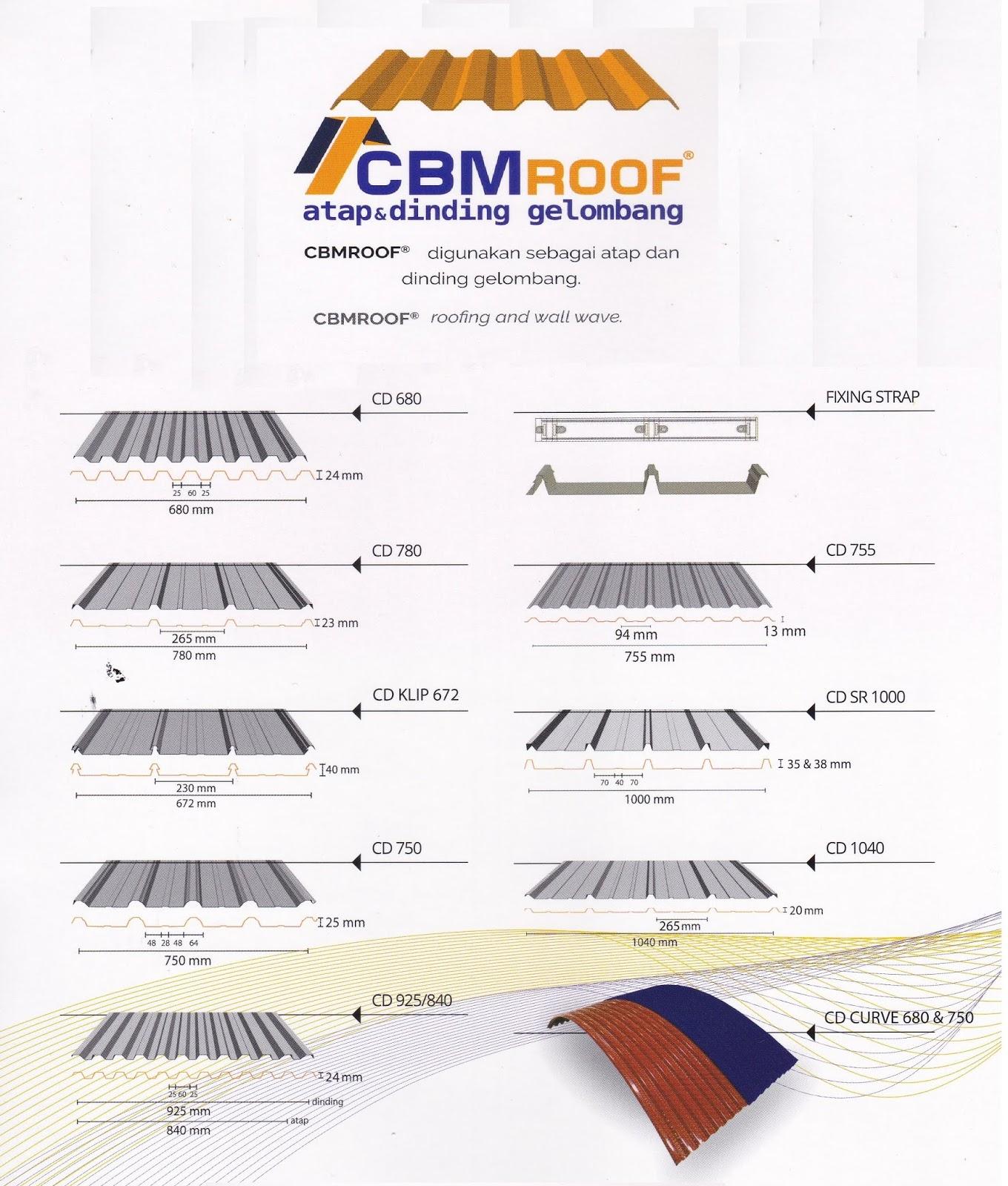 Harga Atap Baja Ringan Zinc Galvalume Zincalume 2019 Supplier Bangunan