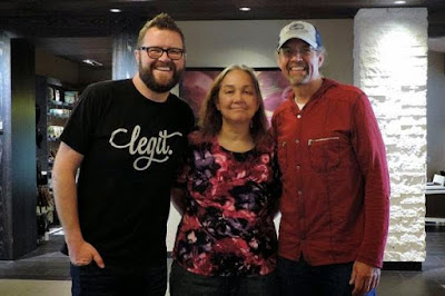 I had a wonderful time chatting with Rutledge Wood and Kyle Petty.