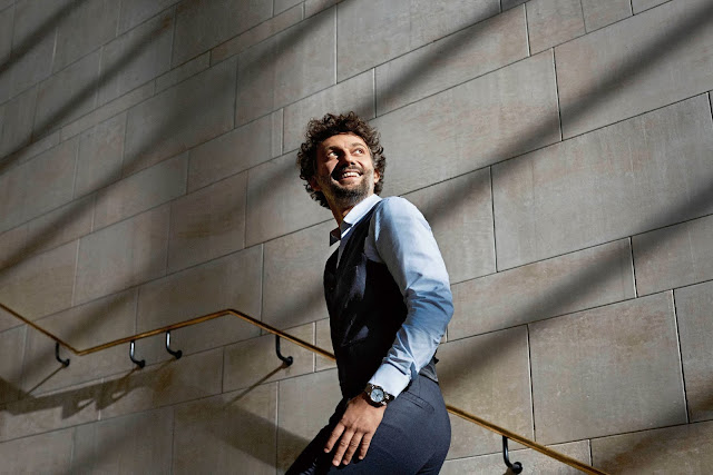 German Tenor Jonas Kaufmann (photo: Rolex/Benoît Peverelli) wearing a rolex
