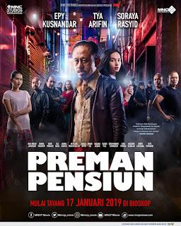 poster orisinil film preman pensiun