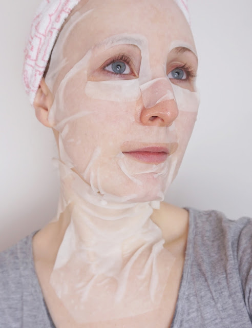 Joyona - MICRO SILK® - seidenzarte Gesichtsmasken Intensive Restore Serum Mask