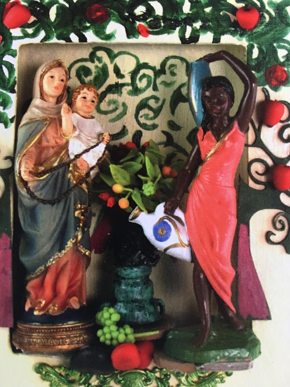 Mary Magdalene as Black Madonna